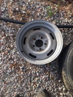 Photo 2 Chevy rally wheels 7x15 - $100 (Ojai)