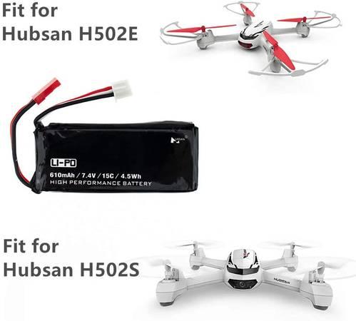 Photo 7.4V 610mAh Lipo Battery for Hubsan H502S H502E X4 Quadcopter Drone - $10 (Camarillo)