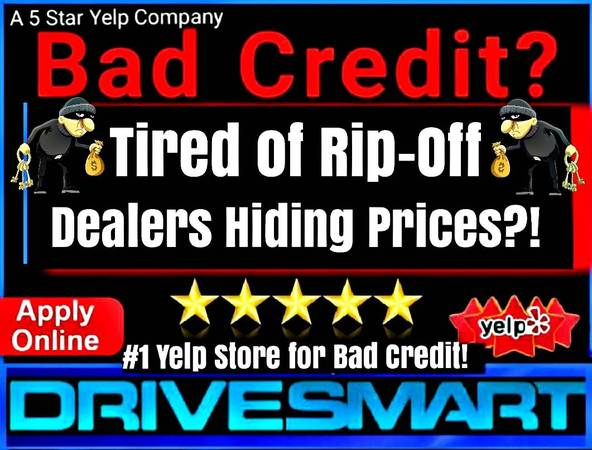 Photo BAD CREDIT TIRED of RIPOFF DEALERS  ILLEGALLY HIDING PRICES - $13997 (CREDIT PROBLEMS CALL THE 1 YELP DEALER 562-582-1783)