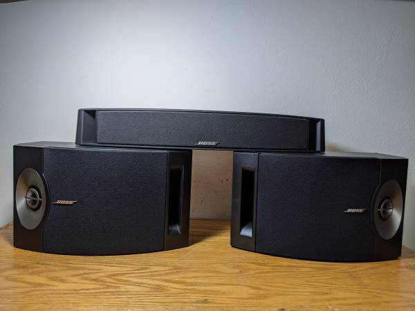 Photo Bose VCS-10, 201 series 5 speakers. - $100 (Thousand Oaks)