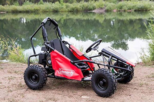 Photo Brand New in box Coleman Powersports 100cc Gas Powered Go-kart - Black - $499 (camarillo)