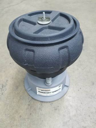 Photo CENTRAL MACHINERY 5 Lb. Metal Vibratory Tumbler Bowl - $38 (Ventura)
