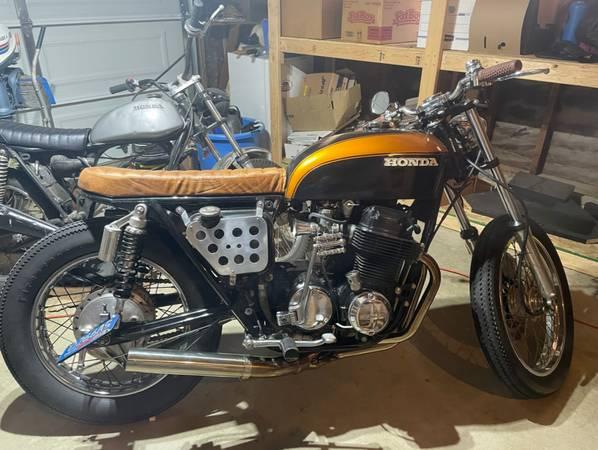 Photo Custom 1973 Honda CB 750 - $4,199 (Ventura County)
