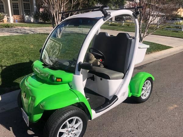 Photo Gem electric car (street legal) - $4,900 (thousand oaks)