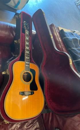Photo Guild Acoustic Guitar DV72 Very Rare only 200 made - $3,200 (Ventura)