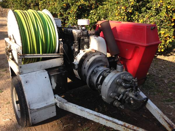 Photo Harben Sewer Hydro Jetter (Drain Cleaner Snake Machine) - $7000 (Solana Beach, CA)