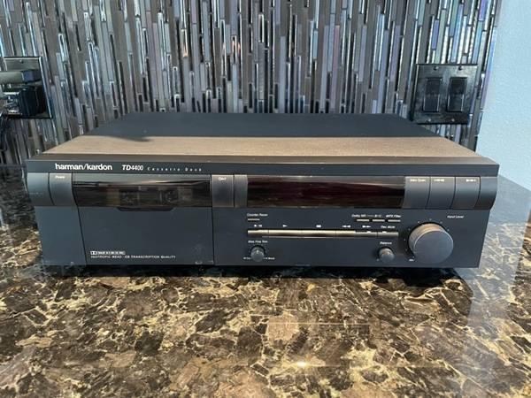 Photo Harman Kardon TD4400 Cassette Deck - $140 (Ventura)