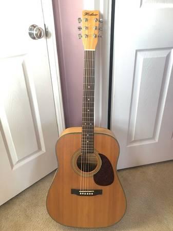 Photo Hohner Professional HW-640 NTF Acoustic Guitar - $349 (ventura)
