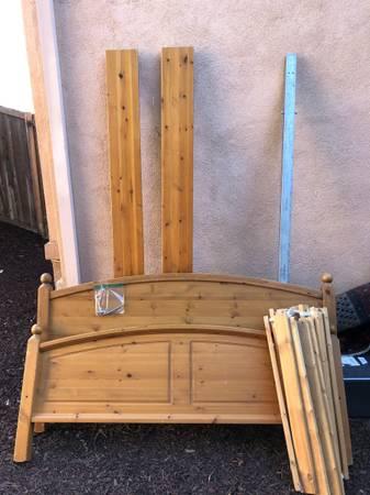 Photo Ikea Queen Bed - $30 (Calabasas)