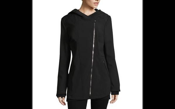 Photo Liz Claiborne Hooded Water Resistant Lightweight Softshell Jacket - $50 (newbury park)