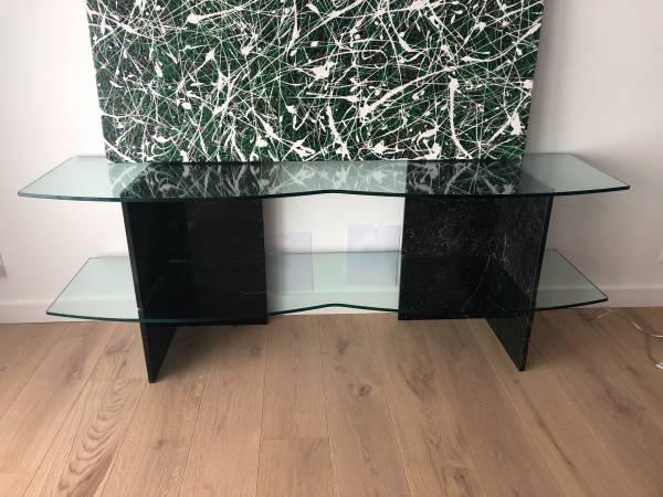 Photo Marble-Glass Shelves (2) - $225 (Camarillo)
