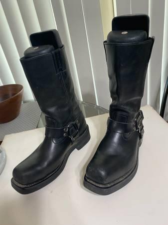 Photo Mens Harley Davidson motorcycle boots size 10 - $135 (Camarillo)