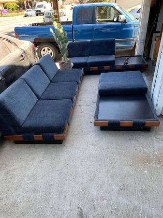 Photo Mid century sofa set by Adrian pearsall - $2,700