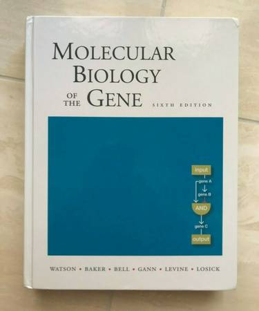 Photo Molecular Biology of the Gene Textbook (6th Ed.) - Great Condition - $10 (Thousand Oaks)