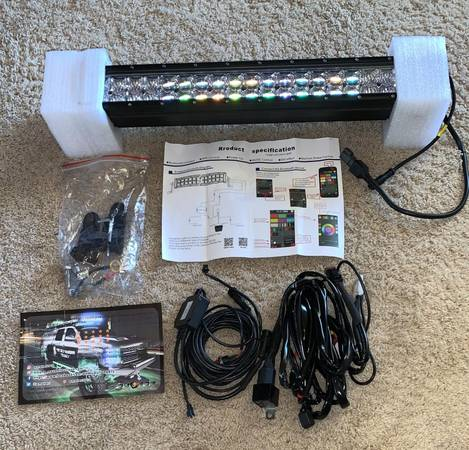 Photo Moving Head Lights, 8 x 3W RGBW LED Stage Light, DJ Lights 4 Color LED - $10 (Santa Paula)