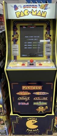 Photo NBA  PAC-MAN Console Machine - $350 (ventura)