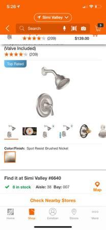 Photo New Moen shower faucet - $90 (Simi ValleyMoorpark)
