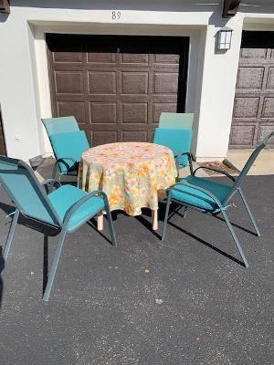 Photo Outdoor Dining Furniture set - $60 (Camarillo)