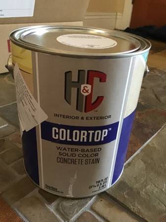 Photo Paint (concrete stain) 2 gallons - $50 (Camarillo)
