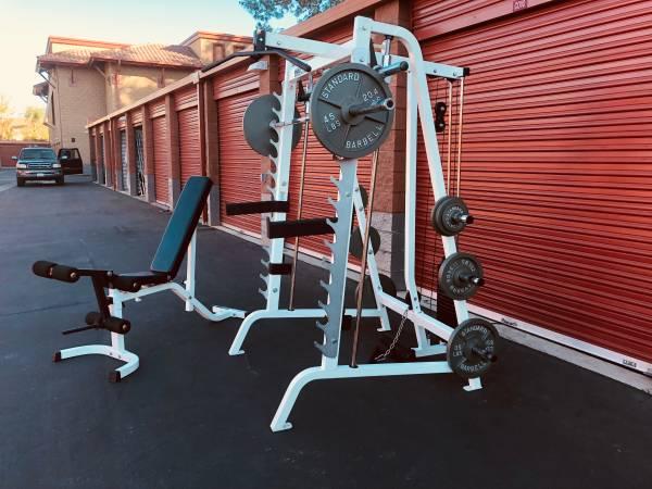 Parabody Smith Machine Squat Rack Exercise Amp Gym Equipment