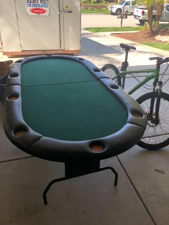 Photo Poker Table - $100 (Newbury Park)