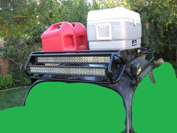 Photo Prerunner Baja Bug Roofrack with LED light bars - $1,150 (SIMI VALLEY)