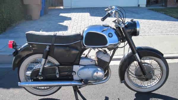 Photo Running 1963 Yamaha 250 twin Harley Hummer 175cc Scat - $1,600 (Camarillo)