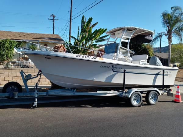 Photo Sea Ox 200 Center Console Sportfishing Boat - $21,500 (ventura)