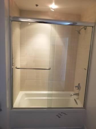 Photo Shower Door - $100 (Simi Valley)