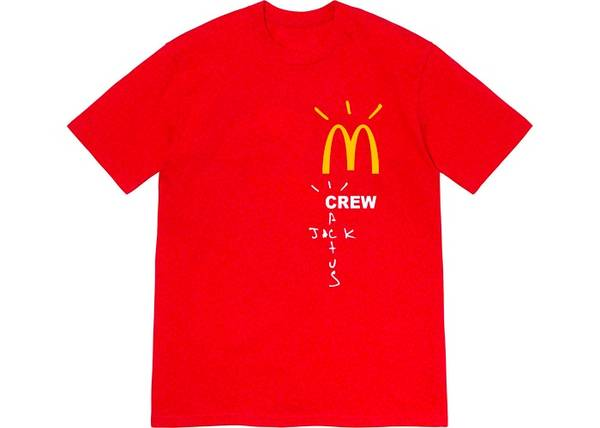 Photo Travis Scott McDonalds Tshirt - $40 (Camarillo)