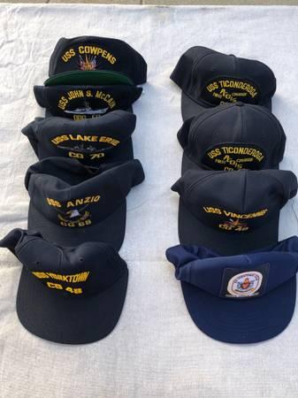 Photo US Navy ship hats - $5 (Midtown Ventura)