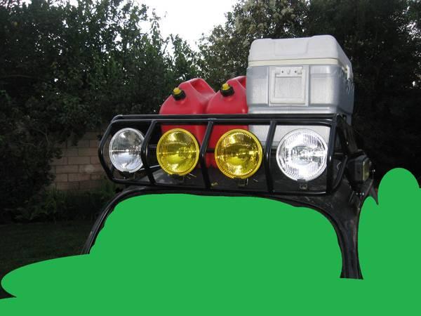 Photo VW BAJA BUG Offroad roof rack w 7quot 100watt Combo lights - $925 (SIMI VALLEY)