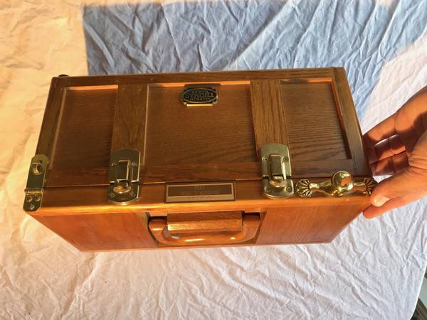 Photo Vintage Gerstner Machinist Tool Box wood big vintage oak - $60 (thousand oaks)