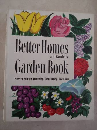 Photo Vintage Mid Century 1961 Better Homes and Gardens Garden Book - $30 (east Simi)