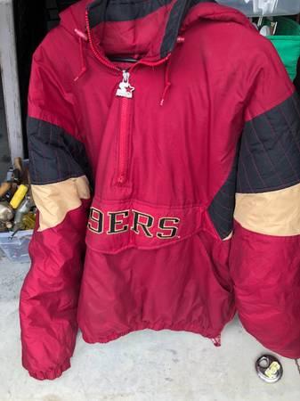 Photo XXL Vintage Starter 49ers Jacket - $40 (Ventura)