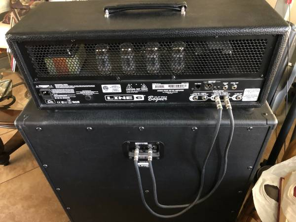 Photo bogner line 6 tube  head only - $450 (simi valley)