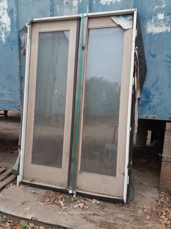 Photo double french door - $125 (somis)