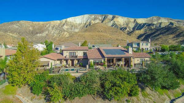 Photo quotFully Furnishedquot Custom Tuscan View Estate with Guest House (Big Sky (Simi Valley))