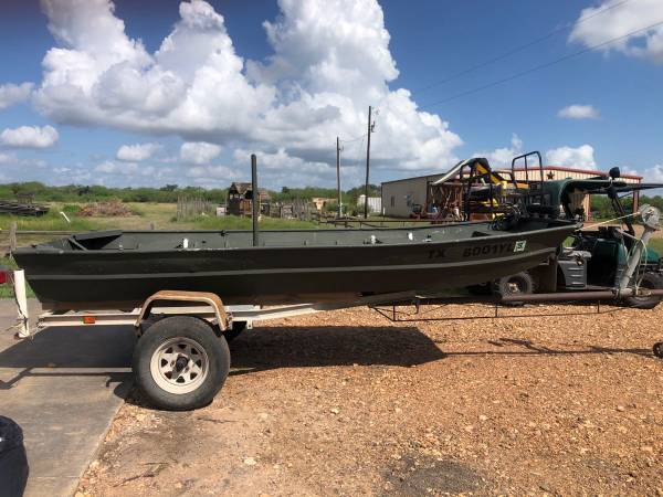 Photo 14 Jon boat and homemade tilt trailer - $1,500
