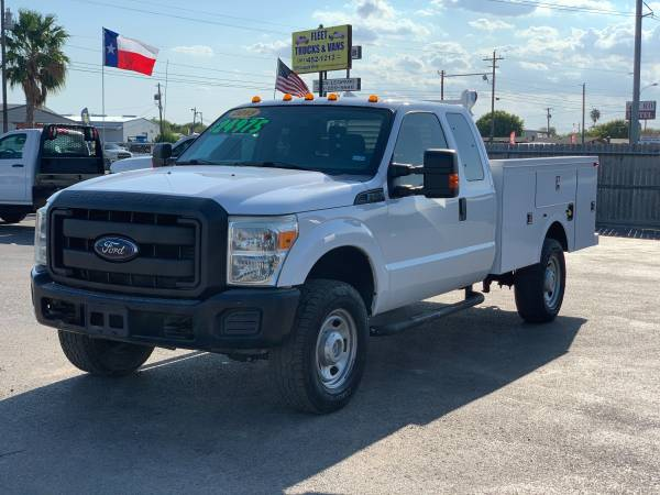 Photo 2015 FORD F350-- SERVICE BODY READY TO GO - $24,975 (5818 LEOPARD)