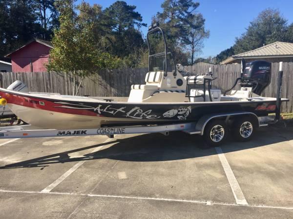 23 Majek Texas Slam W 200 Suzuki 39999 Lake Charles Boats For Sale Victoria Tx Shoppok