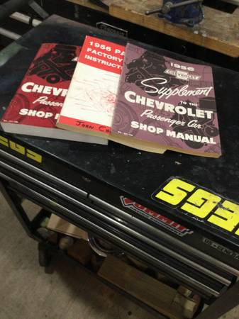 Photo 56 Chevy factory assembly manuals - $60 (Bastrop)