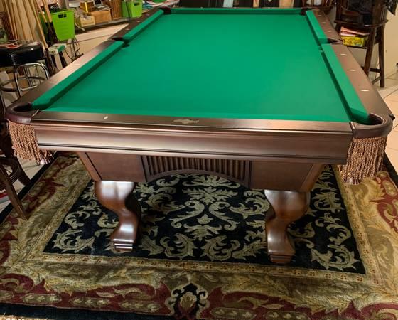 Photo 8 Ft Pool Table American Heritage