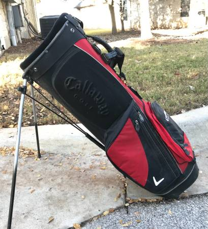 Photo Callaway Golf Golf Club kick out stand bag - $65 (North Austin)