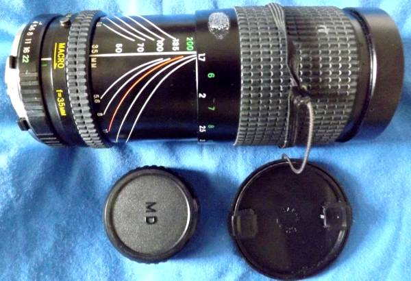 Photo Cosina Lens, 35-200mm, f4-5.6, Used - $22 (Georgetown)