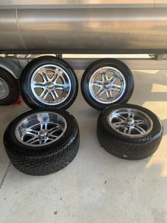 Photo MB Motoring Wheels and Nitto Tires - $750 (Victoria)