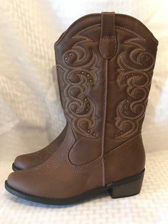 Photo NEW Cat  Jack Western Cowgirl Kids Little Girl Boots size 13 - $15 (Pflugerville)