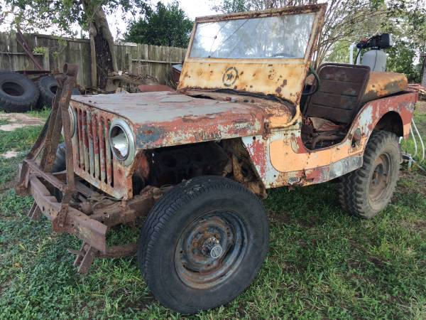 Photo Willys Jeep $800 obo - $800 (Nursery)