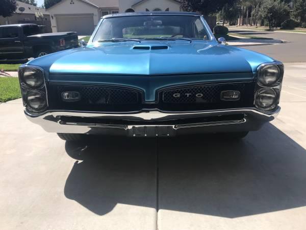 Photo 1967 Pontiac GTO OBO - $55,000 (Visalia)