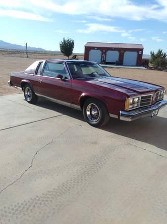 Photo 1978 Olds Delta 88 Royale - $9000 (Kingman AZ)